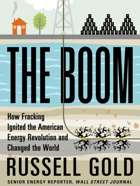 "cover of Russell Gold's book ""The Boom"""
