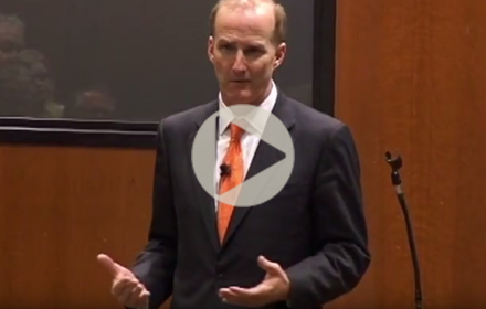 David Crane speaks at UT Energy Symposium