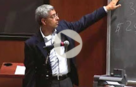 Ashmeet Sidana speaks at UT Energy Symposium
