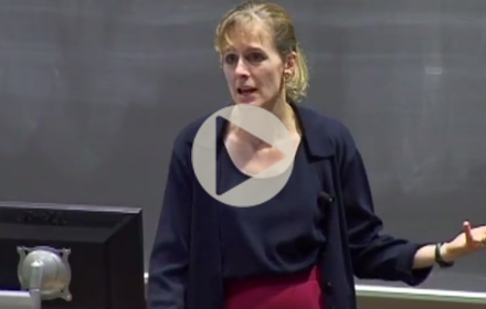 Kara Kockelman speaks at UT Energy Symposium
