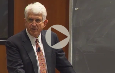 Bob Metcalfe speaks at UT Energy Symposium