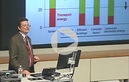Arnulf Grubler speaks at UT Energy Symposium