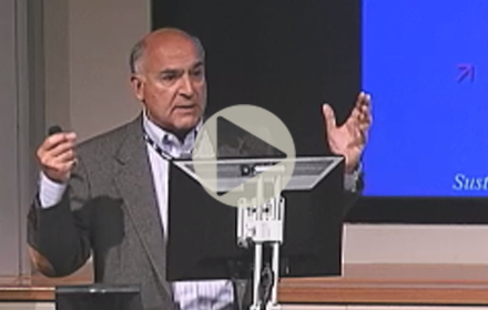 Mehrdad Ehsani speaks at UT Energy Symposium