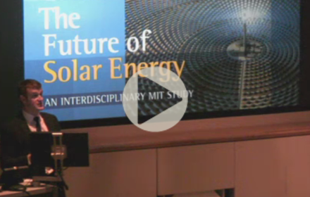 Francis O'Sullivan speaks at UT Energy Symposium