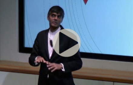 Raj Patel speaks at UT Energy Symposium