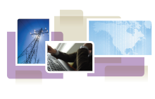 photo collage from cover of white paper, showing transmission lines, a person at a keyboard and a map