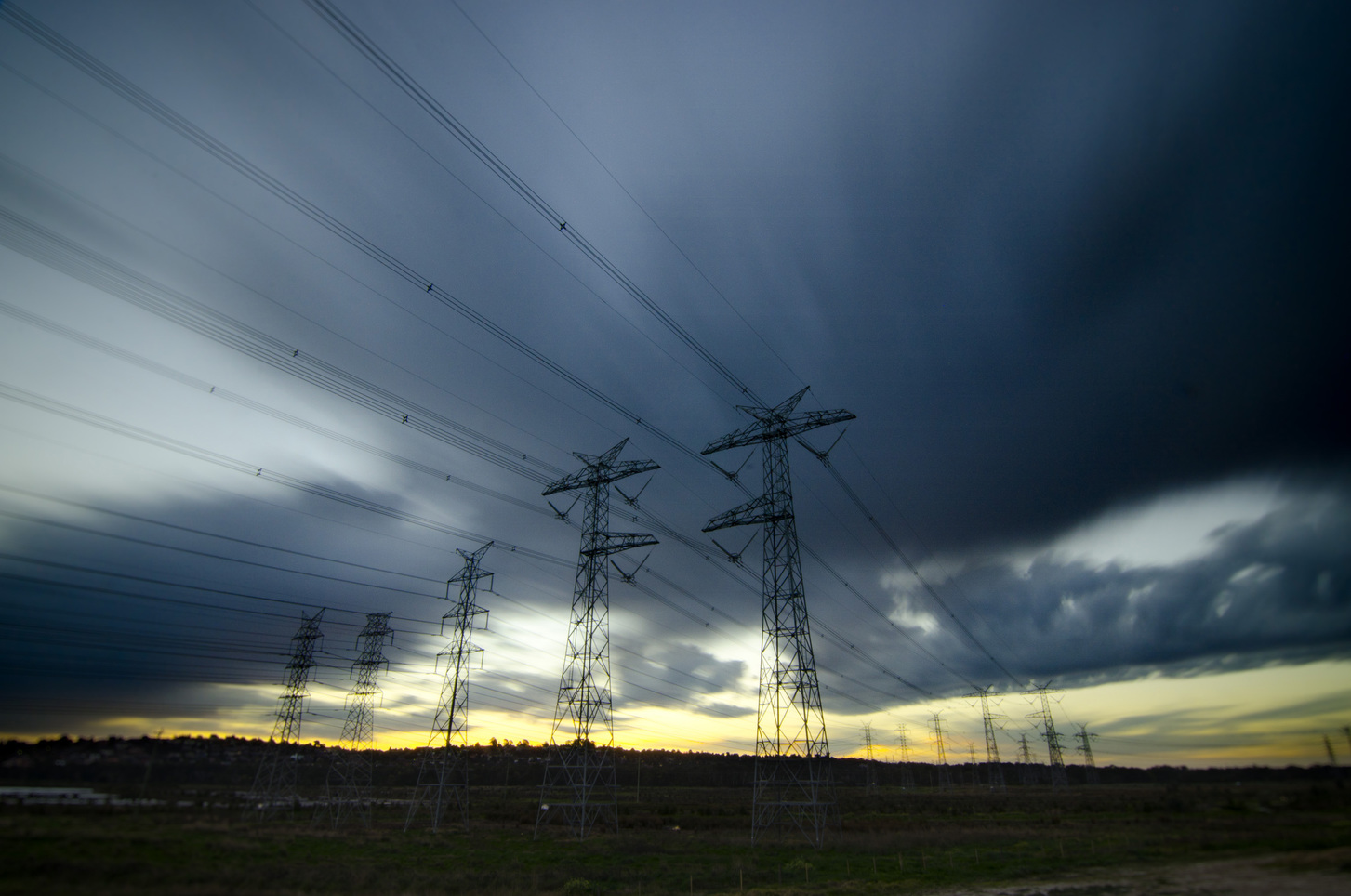Showing their age: Upgrading transmission lines could bring solar and wind-generated power from remote parts of the country to where the people are, which would help make the grid cleaner and potentially lower prices. indigoskies/flickr, CC BY-NC-ND